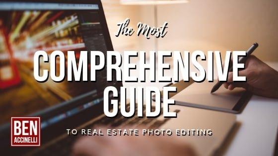 Real Estate photo editing ben accinelli